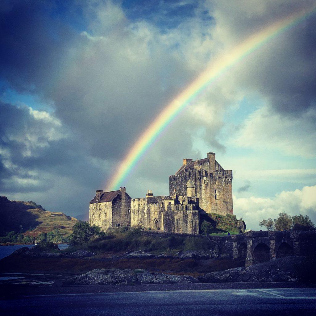 Eilean Donan Castle (rainbow)